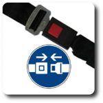 Todos nuestros vehiculos incorporan cinturones de seguridad homologados